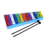Andoer® 13 BarKinder Glockenspiel Xylophon Bunter Note des Pädagogisches Rhythmusinstrument RhythmusSpielzeug für Baby Kleinkind Kinder -