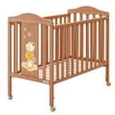 Babybett Kinderbett Schaukelbett aus Holz Oblò Rana Azur Panna TV 101855 -
