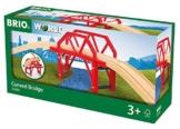 BRIO 33699 - Bahnbrücke mit Auffahrten, bunt -