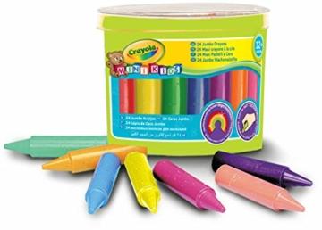 Crayola 02.0784 - 24 Jumbo Wachsmalstifte -