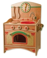 Dida - Küche Spielzeug für Kinder im Wald - das Trio: Spüle, Herd, Backofen - Spiel der Imitation -
