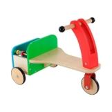 EARLY LEARNING CENTRE Dreirad aus Holz mit Bausteinen Fahrzeug, mehrfarbig -