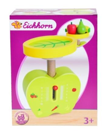 Eichhorn 100003718 - Holz-Waage -