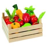 Goki 51658 - Kaufläden und Zubehör - Obst und Gemüsein Kiste -