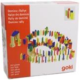 Goki 58963 - Bodenspiel - Domino-Rallye -