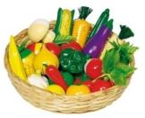 Goki WM592 - Obst und Gemüse, Kaufladen-Zubehör -