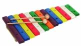 Goldon Xylophon, 13 sauber gestimmte Ahornklangplatten, bunt -