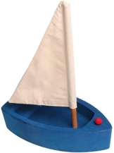 Grimms Spiel Und Holz Design Grimm's Segelboot blau groß -
