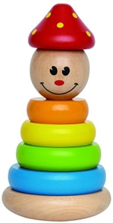 Hape E0400 - Stapel-Clown -