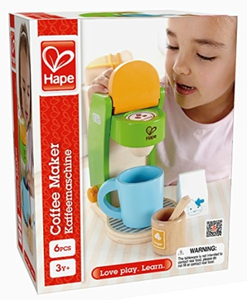 Hape E3106 - Kaffeemaschine -