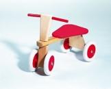 Holz-Sitz-Roller, 4 Räder, Sitzroller, Holzroller -