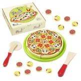 howa Schneidepizza mit Pizzaroller, Heber und Pizzakarton 4870 -