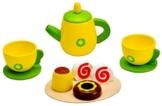 Idena 4100108 - Kleine Küchenmeister Kaffee - Set aus Holz, 11 teilig, circa 24 x 18 x 6 cm -