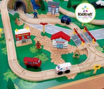 KidKraft 17850 - Eisenbahnset und Spielplatte Waterfall Mountain -