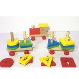 Kinder Nachzieh Spielzeug Zug Spielzeug Modell Entwicklungsbabyspielzeug -