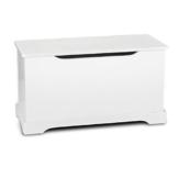 Kindertruhenbank Kinderbank weiße Farbe Truhenbank Behälter für Spielzeug, Sitzbank mit Stauraum für Spielsachen -