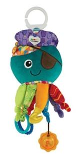 """Lamaze Baby Spielzeug """"Captain Calamari, die Piratenkrake"""" Clip & Go - hochwertiges Kleinkindspielzeug - Greifling Anhänger zur Stärkung der Eltern-Kind-Bindung - ab 0 Monate -"""