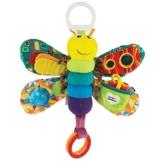 """Lamaze Baby Spielzeug """"Freddie, das Glühwürmchen"""" Clip & Go - hochwertiges Kleinkindspielzeug - Greifling Anhänger zur Stärkung der Eltern-Kind-Beziehung - ab 0 Monate -"""