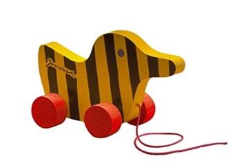 Little Tiger Verlag 85011 - Janosch Tigerente aus Holz mit Schnur, 19 cm -