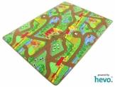 Mein Dorf HEVO ® Strassen Spielteppich | Kinderteppich 145x200 cm -