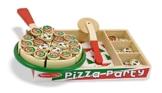 Melissa & Doug - 10167 - Pizza aus Holz -