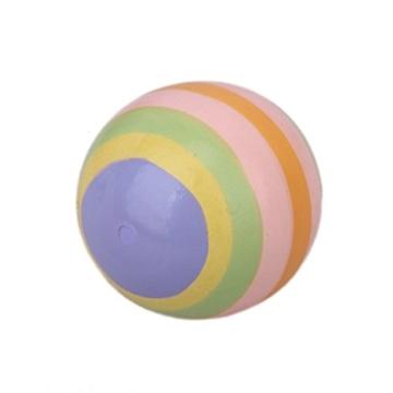 Mini Mehrfarbige Holz Affeentwurf Bowling Pin Und Ball Spielzeug Für Kinder -