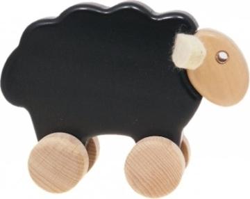 Nachziehtier Ziehtier Holzspielzeug Motorikspielzeug - Schaf -
