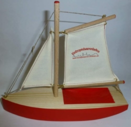 Ogas 2054 Segelschiff holzspielwaren-dresden.de Segelboot aus Holz -