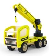 Pintoy 12550 Kranwagen Autokran für die Baustelle 30x10x15 cm -