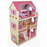 Puppenhaus Puppenstube Traumhaus Möbel Kinder Holz HIMBEERSUITE 4109 -