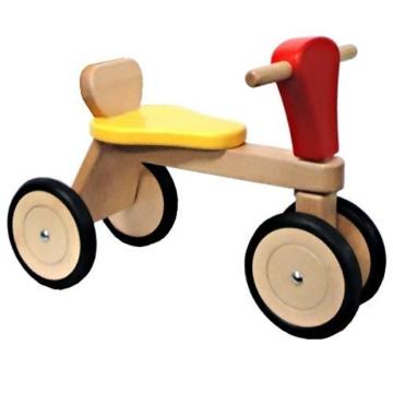 """rosilino Sitzroller """"GoGo"""" aus Buche massiv, mit Flüsterreifen und Lenkschutz -"""