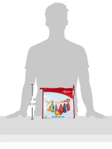 sigikid, Mädchen und Jungen, Kegelspiel mit 6 Tierfiguren, Mehrfarbig, 49520 -