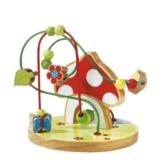 SOLINI Motorikschleife Fliegenpilz Motorik-Spielzeug Baby, mehrfarbig -