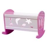 Speelgoed 610814 - Puppen Schaukelbed Holz -