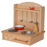 Spielküche Kinderküche 2012 aus massivem Holz geölte Ausführung von Holzspielzeug-Peitz Neu -