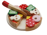 Tanner 0927.9 - Pizza aus Holz zum Schneiden -