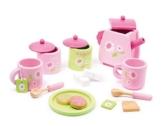 Teeservice rosa  17 Teile / F -