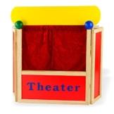 Tisch-Puppentheater -