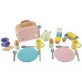 Ultrakidz Frühstücks-Set aus Holz, 25-teilig -