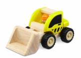 Wonderworld WW-4005 Fahrzeug Bagger 9 x 14 x 14 cm, gelb -