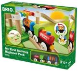 BRIO 33727 - Mein Erstes Brio Bahn Spiel Set, Zubehör -