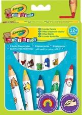 Crayola 03.3678.199 - 8 Jumbo Buntstifte -