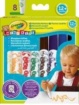 Crayola 03.8324R - 8 Erste Filzstifte -