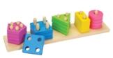 Goki 58927 - Farben- und Formen Sortierspiel -