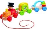 Hape E0431 - Wunderbarer Zug, Nachziehspielzeug -