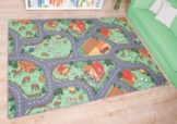 Kinderteppich Bauernhof, Größe Auswählen:140 x 200 cm -