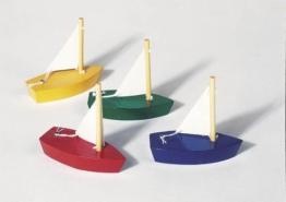 Mini-Segelboote 4er Set -