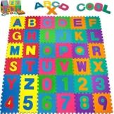 Puzzlematte 86 tlg. - Kinderspielteppich Spielmatte Spielteppich Schaumstoffmatte Matte bunt -