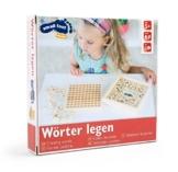 Small Foot by Legler Wortlernspiel aus Holz, geeignet für Kinder ab 5 Jahren, Lernhilfe für Rechtschreibung -