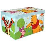 Spielzeugbox - Spielzeugkiste - Aufbewahrungskiste - Stoffbox mit großen Stauraum (Winnie the Pooh) -
